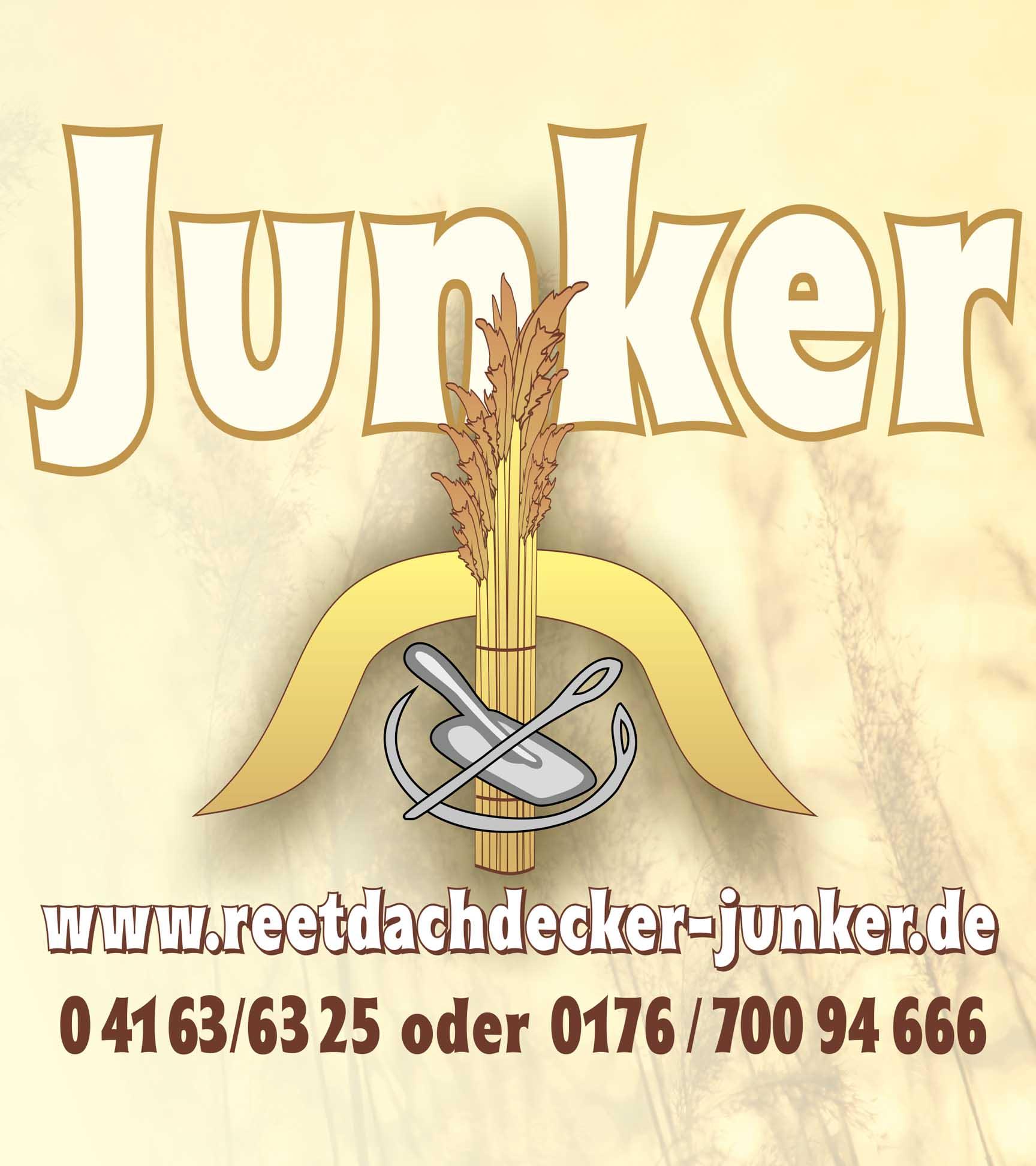 Reetdachdecker Reinhold Junker